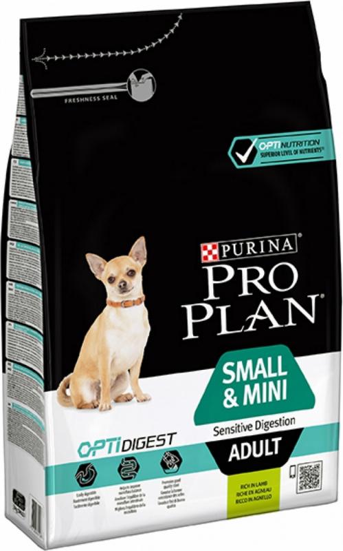 PRO PLAN Small & Mini Adult Optidigest à l'Agneau