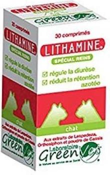 GREEN VET Lithamine Chien & Chat pour le Confort Rénal