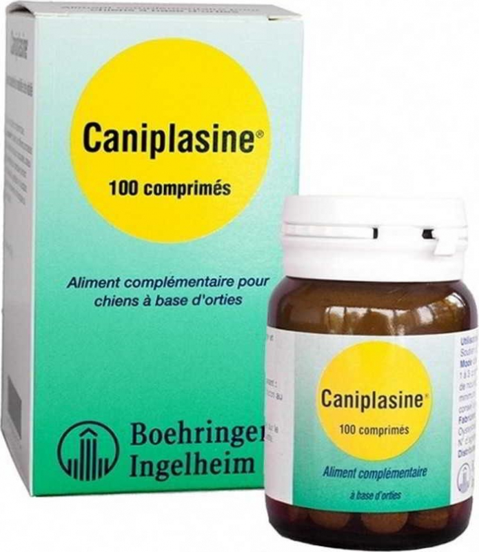 BOEHRINGER Caniplasine Chien - Supplément nutritionnel pour le renforcement de la Vitalité