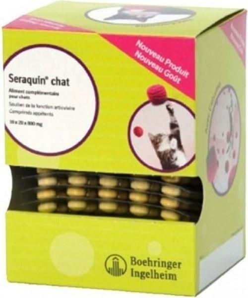 BOEHRINGER Seraquin chat 200 comprimés - Soutien de la fonction articulaire