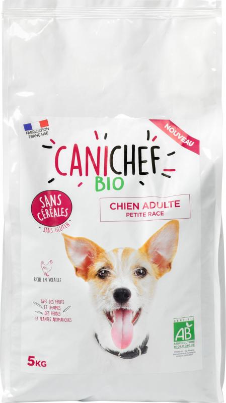 CANICHEF BIO Senza Cereali per Cani di Piccola taglia