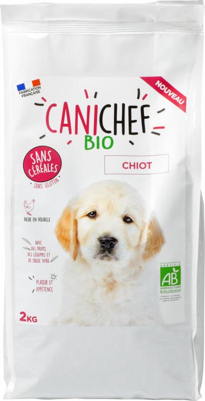 CANICHEF BIO Crocchette BIO Senza Cereali per Cucciolo