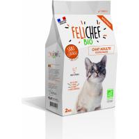 FELICHEF BIO Croquettes BIO Sans Céréales pour Chat adulte