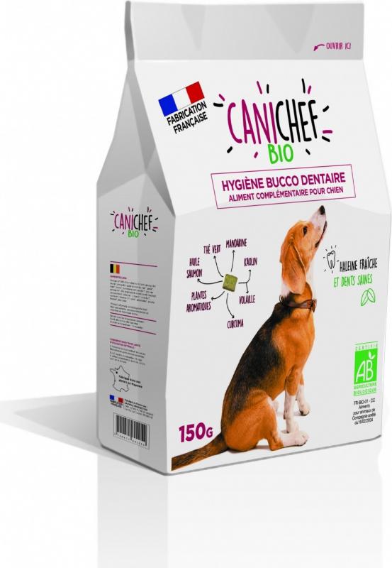 CANICHEF BIO Friandises BIO Hygiène bucco dentaire pour Chien
