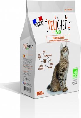 FELICHEF BIO Friandises BIO Plaisir pour Chat