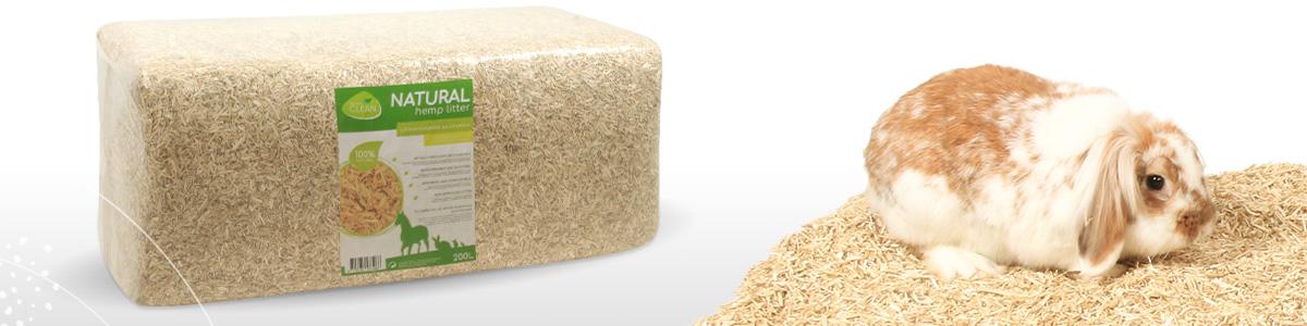 quality clean litière chanvre naturelle