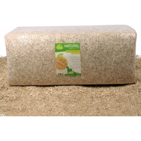 Lettiera in canapa 100% naturale 130L, 100L e 200L Quality Clean
