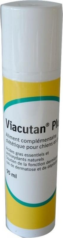 BOEHRINGER Viacutan Plus - Complément Peau et Pelage pour Chien & Chat