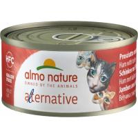 Natvoer ALMO NATURE HFC Alternative 70g graanvrij voor volwassen katten - 5 smaken