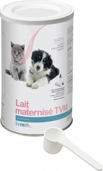 Lait maternisé pour chiot et chaton TVM