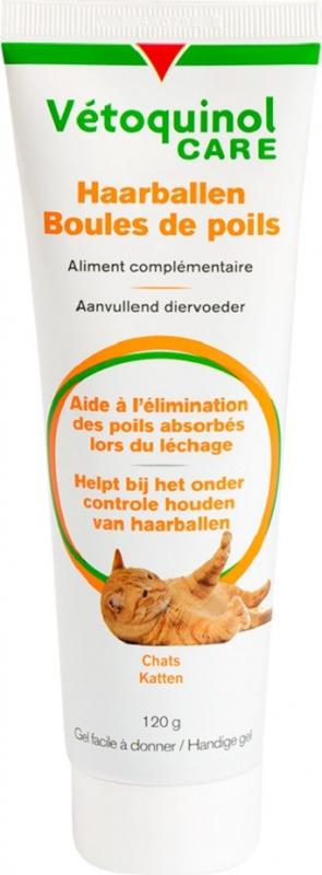 VÉTOQUINOL Care - Gel Bolas de Pelo para gato