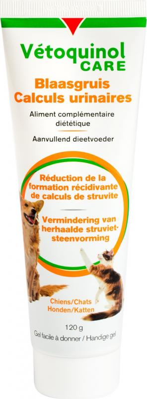Vetoquinol Care - Gel Calculs Urinaires pour Chien & Chat