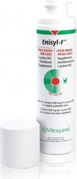 Vetoquinol Enisyl-F Suplemento nutricional de L-lisina para gatos