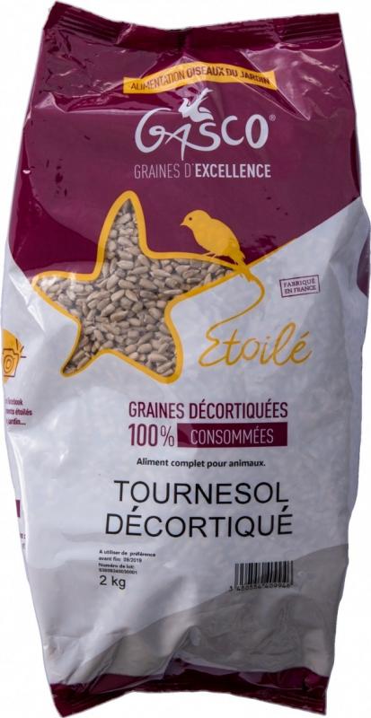 Tournesol décortiqué 2kg - Gamme Etoilé