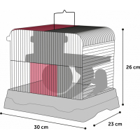 Cage pour Hamster DINKY