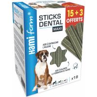 HAMIFORM - Stick Dentaire HealthCare Maxi - Chien de Grande Taille