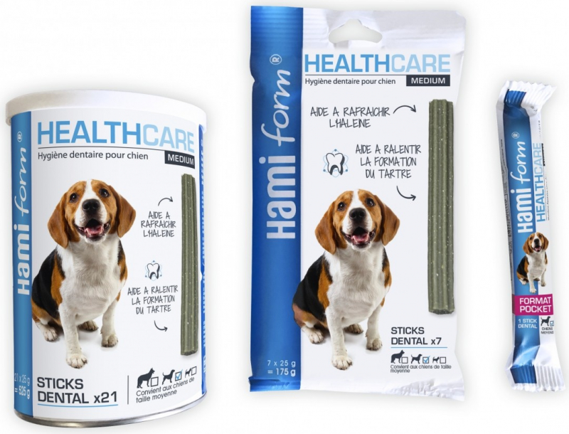 HAMIFORM - Dental Stick HealthCare Medium - Mittelgroße Hunde