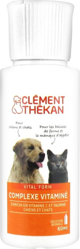 CLÉMENT THÉKAN - Complejo Multivitaminado para perro & gato