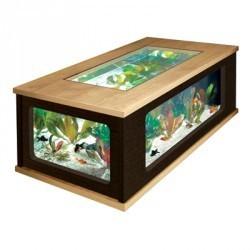 Table basse aquarium 300L - Aquarium et meuble