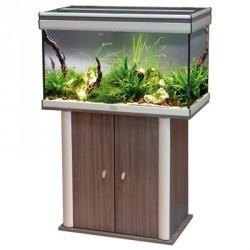 Aquarium ambiance 80x40 wenge 138l aquarium et meuble for Meuble 80x40
