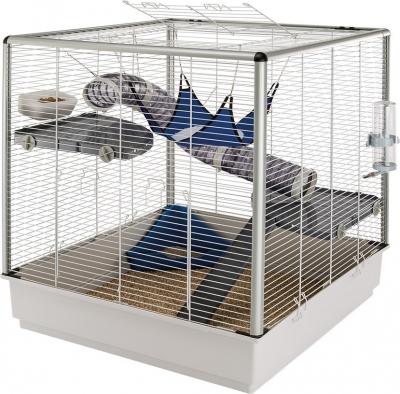 Cage Ferplast Furet XL deux niveaux pour Furet