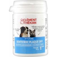 CLÉMENT THÉKAN Denticroc Plaque Off Perro & Gato