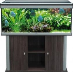 Meuble Pour Ambiance 120 X 40 X 70 Bois Vein Aquarium
