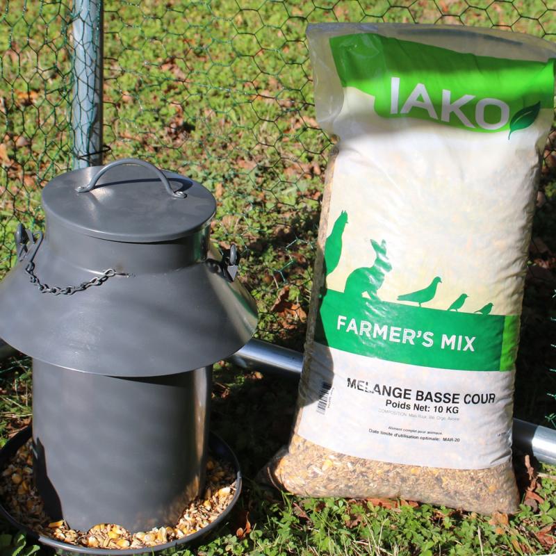 Farmers' Mix IAKO Alleinfuttermittel für Geflügel - Ideal für Legehennen