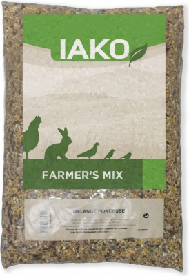 Mélange complet pour poules pondeuses Farmer's Mix avec maïs concassé