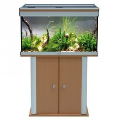 meuble pour aquarium ambiance h tre 80x40x70cm aquarium et meuble. Black Bedroom Furniture Sets. Home Design Ideas