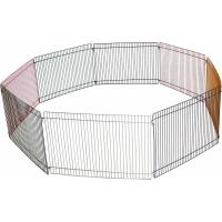 Petit enclos modulable pour rongeurs Zolia Tex - 8 pièces