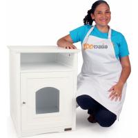 Maison de toilette en bois Multi-Usages pour chat Zolia Poppins