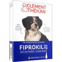 Pipettes antiparasitaires pour chien Clément Thékan Fiprokil
