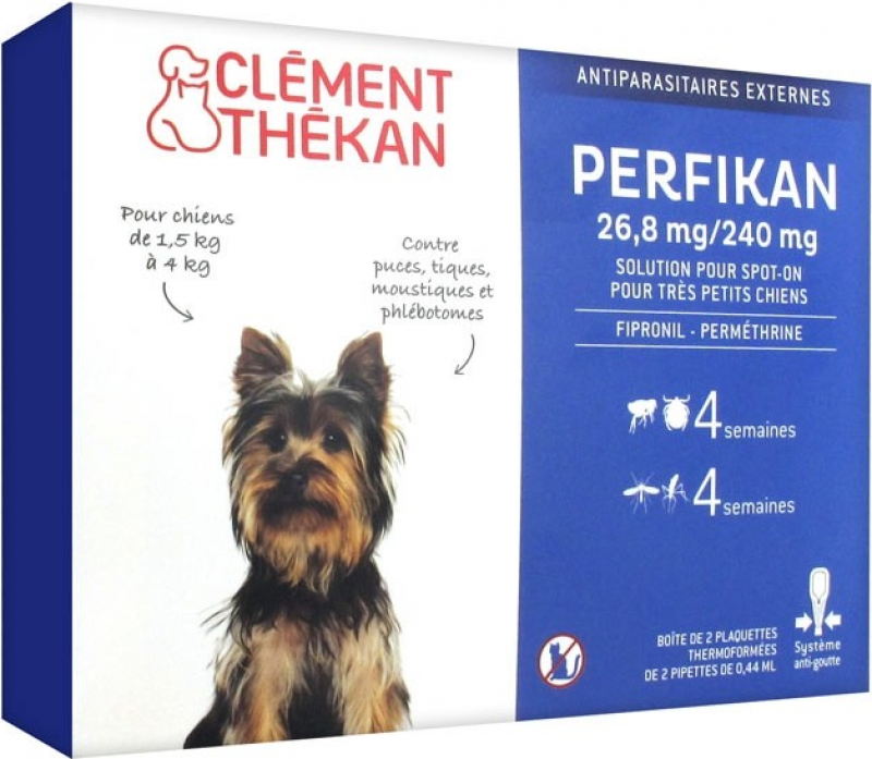 Clément Thékan Perfikan - Antiparasitaire Externe pour Chien