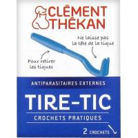 Clément Thékan Tire-Tic - 2 Ganchos para quitar las garrapatas