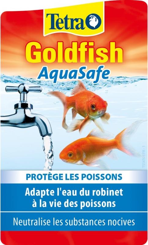 Tetra Goldfish Aquasafe poissons rouges
