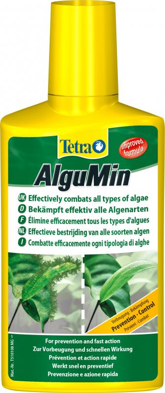 Tetra AlguMin, lucha suave contra las algas