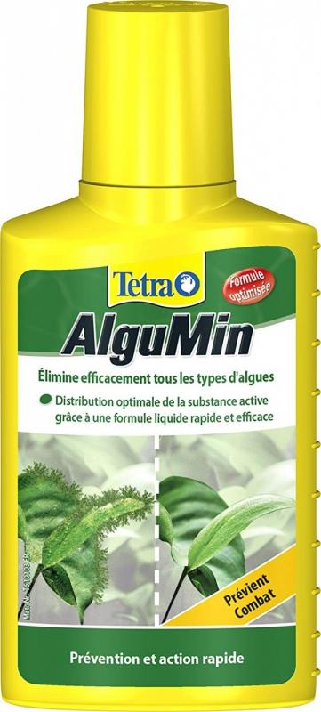 Tetra algumin lucha suave contra las algas.