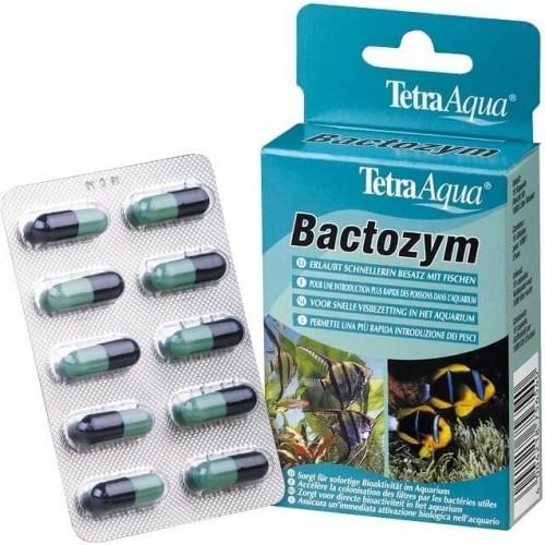 Tetra Bactozym Bactéries en gélules pour aquarium