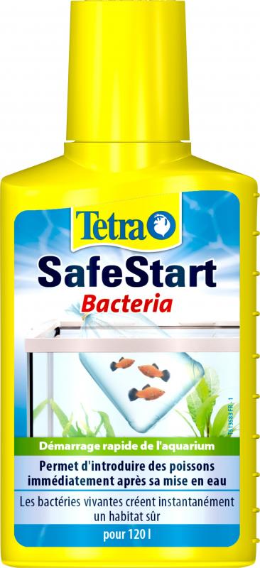 Tetra Safe Start - pour le démarrage rapide de l'aquarium