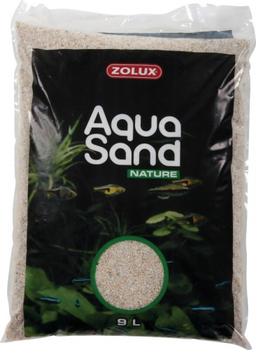 Sable Aquasand Nature Quartz Blanc 9l Sable Et Gravier