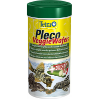 Tetra Pleco Veggie Wafers Aliment pour poissons de Fond herbivores