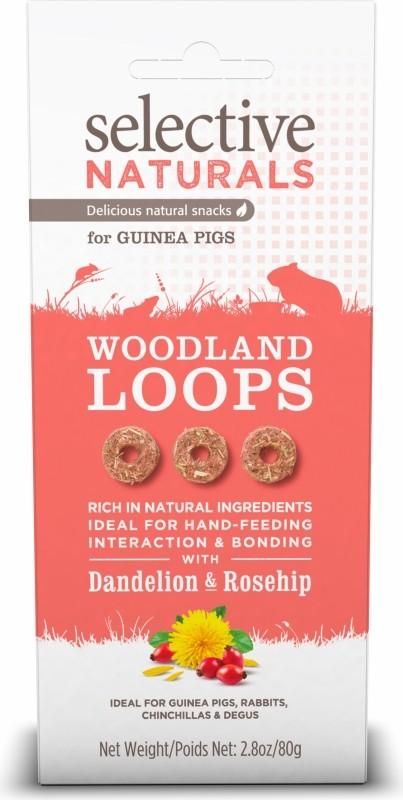 Golosina Selective Woodland Loops con dientes de león y escaramujo