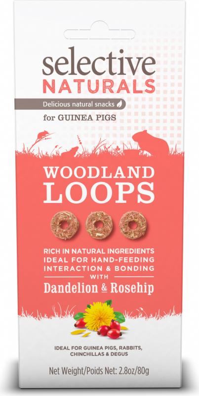 Friandise Selective Woodland Loops avec pissenlit et églantier