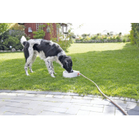 Bebedero exterior automático para perro, gato o ganado pequeño