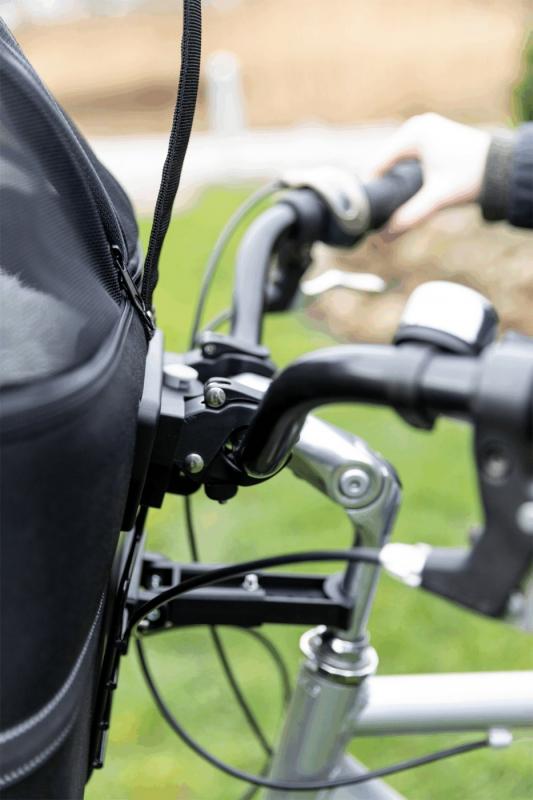 Panier avant pour vélo pour chiens