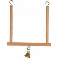 Balançoire bois 12cm avec clochette