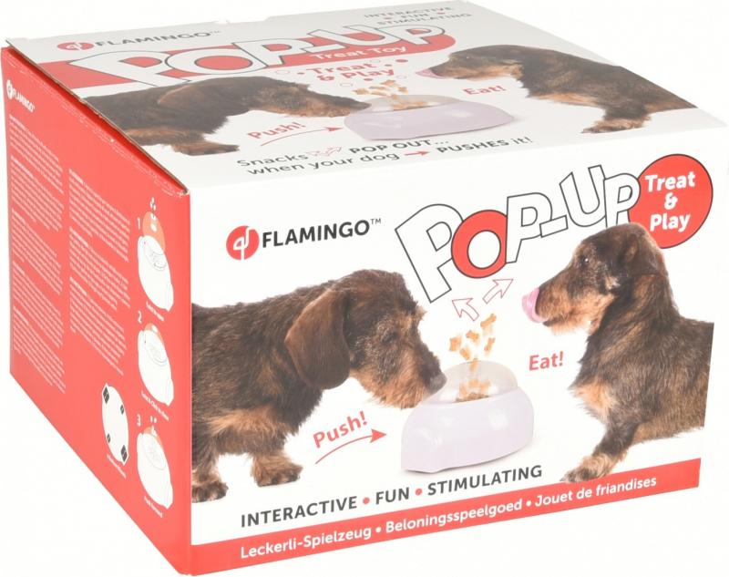 Popup Toy - Beschäftigungsspiel für Hunde, Katzen und Pferde