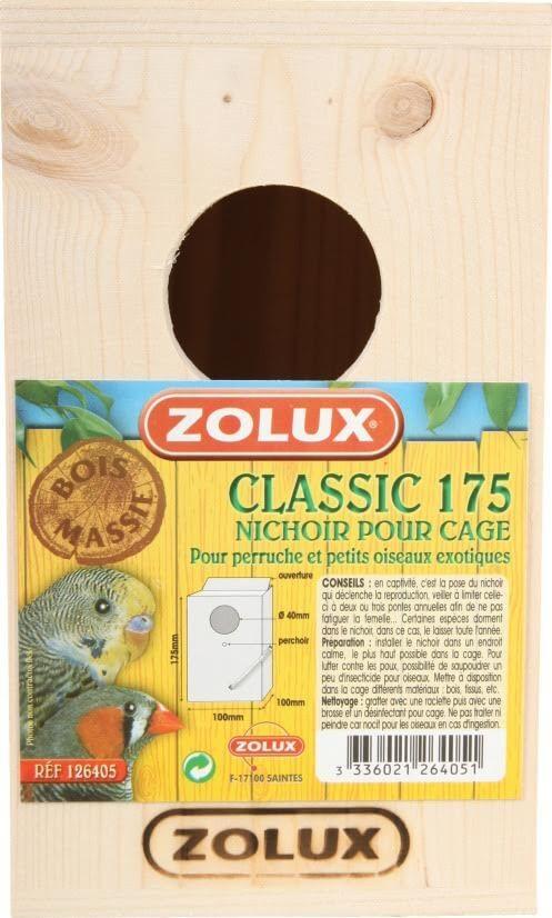 Nichoir Classic 175 pour perruche et petits oiseaux exotiques_1