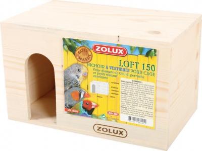 Nichoir loft 150 à vestibule pour Diamant de Gould, perruche et petits oiseaux exotiques